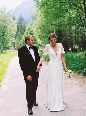 Chamonix Wedding by Alexander James