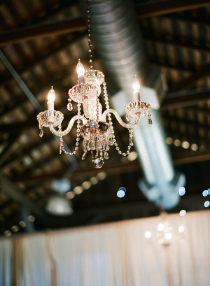 Chandeliers in Rustic Weddings