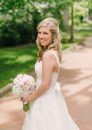 Classic Outdoor Bridal Portrait From Hunter Photographic