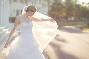 Elegant Bridal Portrait From Vitalic Photo