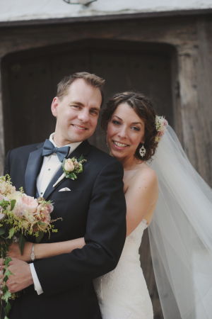Elegant Outdoor Couple Portrait From Amy Carroll