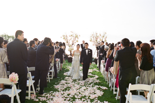 Elegant Outdoor Wedding Ceremony