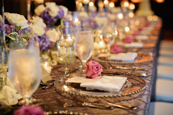 Elegant Table Settings brilliant elegant table settings black and white wedding r