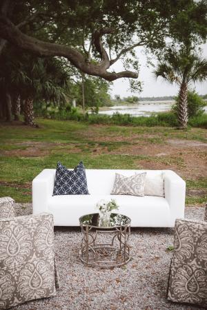 Elegant Wedding Seating Vignette