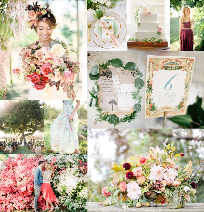 Fall Floral Wedding Inspiration