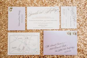 Fancy Letterpress Wedding Stationery