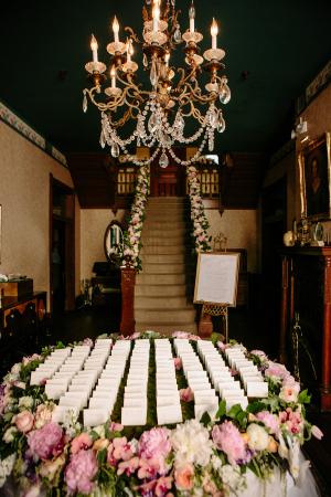 Floral Bannister Garland