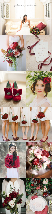 Garnet Wedding Colors