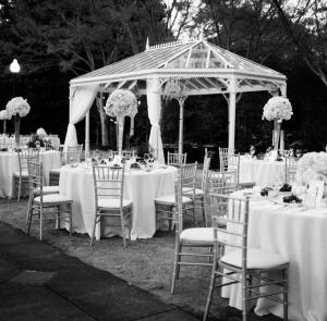 Glass Gazebo at Birmingham Botanical Gardens Wedding Venue