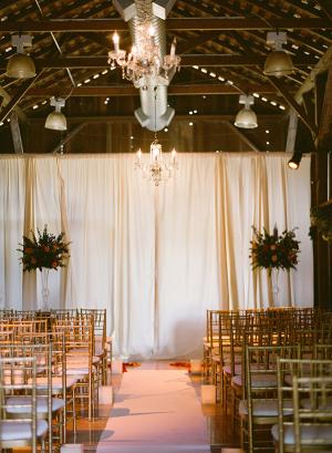 Gold Chiavari Ceremony Chairs