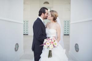 Just Married Chapel Doors