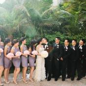 Lavender Bridesmaids Dresses - Elizabeth Anne Designs: The Wedding Blog