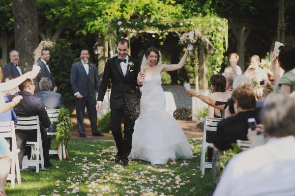 Lawn Wedding Ceremony