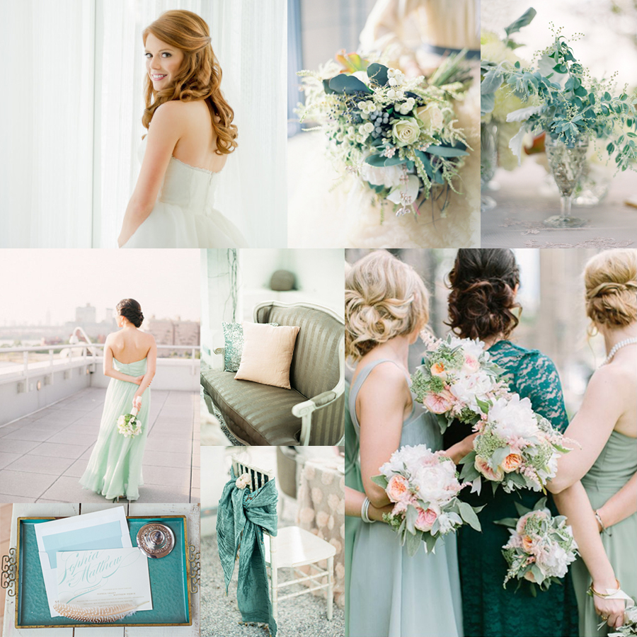 Wedding Colors: Teal And Mint Wedding Colors