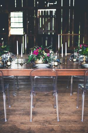 Modern Barn Wedding Ideas