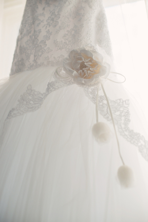 Modern Bridal Gown Detailing