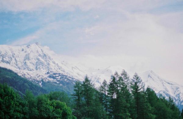 Mountains of Chamonix