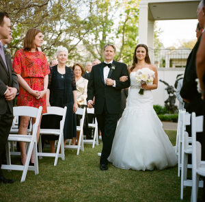 Outdoor Botanical Garden Wedding Ceremony