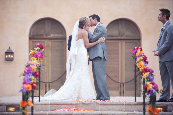 Outdoor Scottsdale Resort Wedding Venue