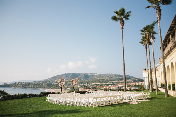 Outdoor Wedding Ceremony at The Ritz Carlton Laguna Niguel