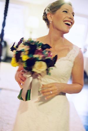 Pretty Autumn Bride