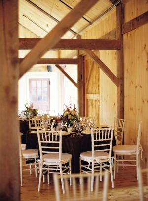 Pretty Fall Farm Wedding