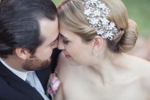Rhinestone Flower Bridal Hairpiece