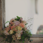 Rustic Floral Reception Decor