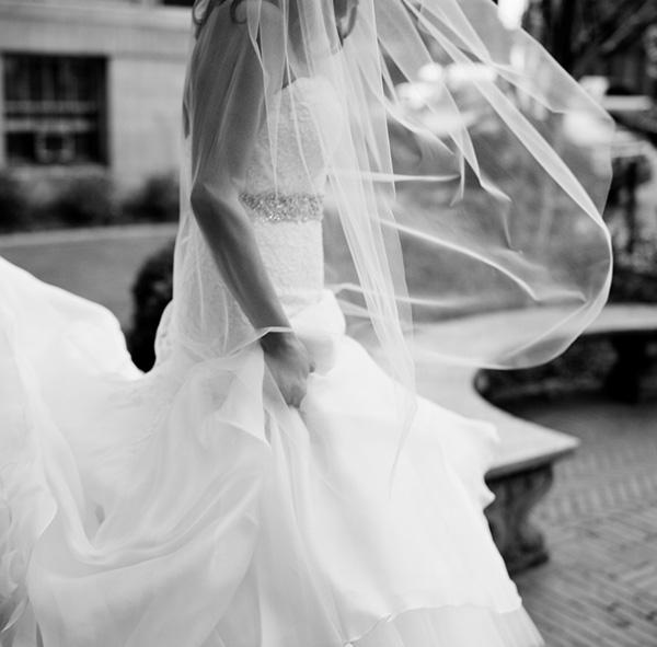 Sheer Veil Bridal Ideas