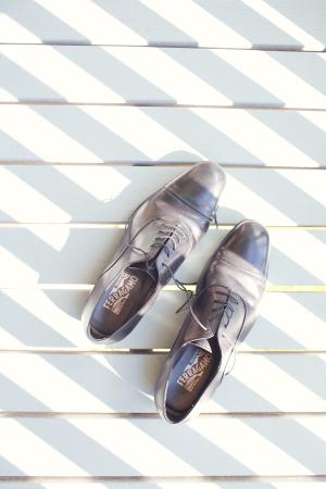 Square Toe Ferragamo Grooms Shoes