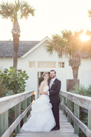 Sunset Wedding Photos