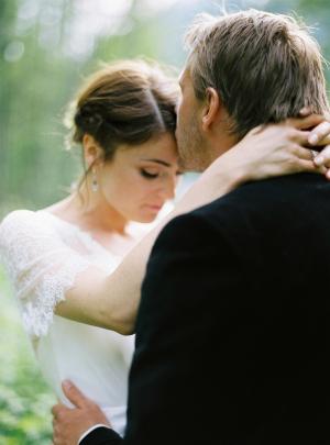Touching Wedding Moment