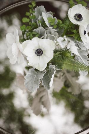 White Anemone Arrangement