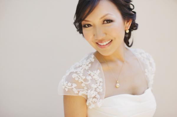 Beautiful Bride in Vera Wang