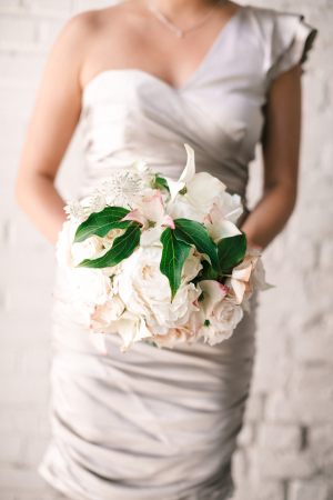 Bridesmaid Ivory Bouquet