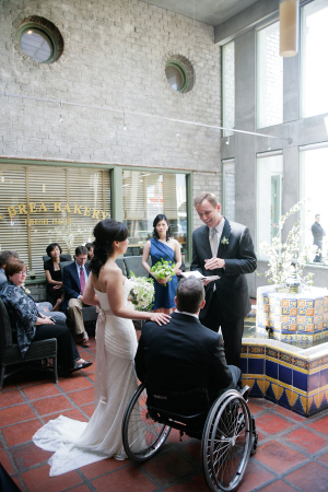 Campanile Restaurant Wedding Ceremony