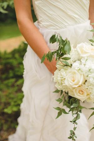Cascading White Bouquet