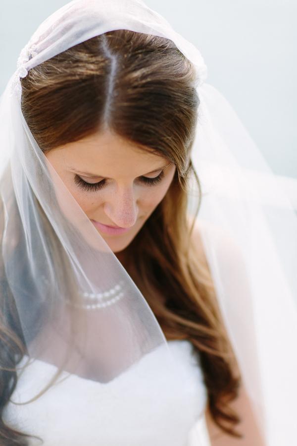 Classic Bridal Portrait Justine Bursoni