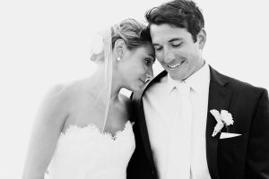 Classic Bride and Groom Portrait From Erin McGinn
