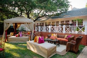 Colorful Wedding Lounge Area
