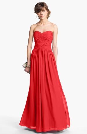 Coral Bridesmaids Dress