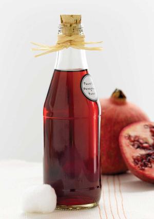 DIY Pomegranate Toner