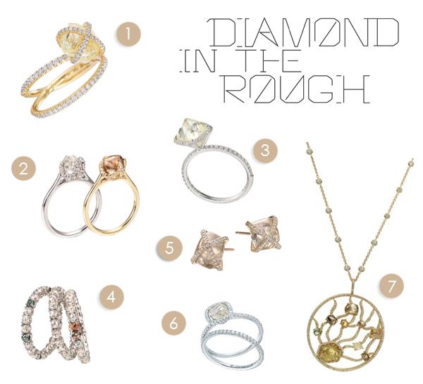Diamond in the Rough Jewelry