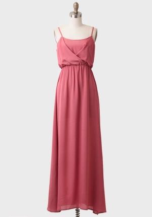 Dusty Pink Maxi Dress