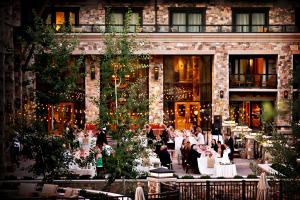 Elegant Autumn Wedding Reception