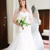 Elegant Bridal Portrait From Justine Bursoni