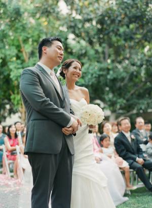 Elegant Outdoor Los Angeles Wedding Ceremony