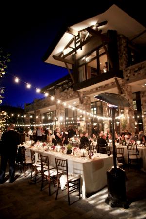 Elegant Outdoor Reception