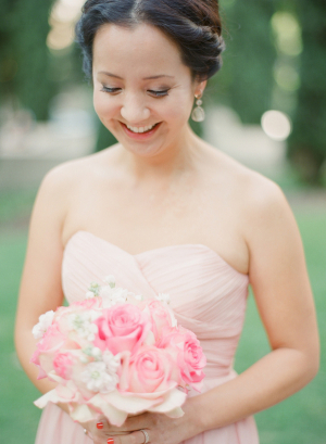 Elegant Pink and White Bouquet
