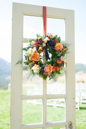 Fall Wedding Wreath